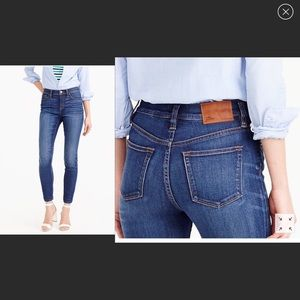 """J.Crew """"Look out"""" Highrise Skinny Jeans size 29T"""
